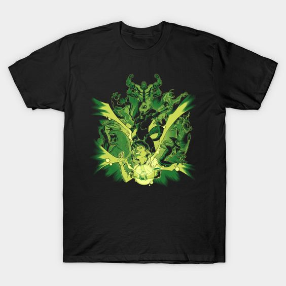 Alien Hero Ben 10 T-Shirt VL24D
