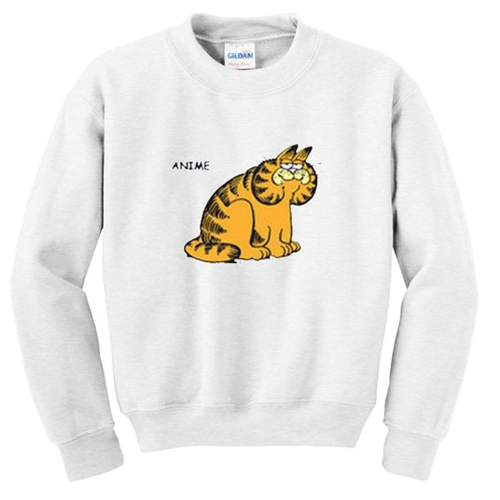 Anime garfield sweatshirt ER2D