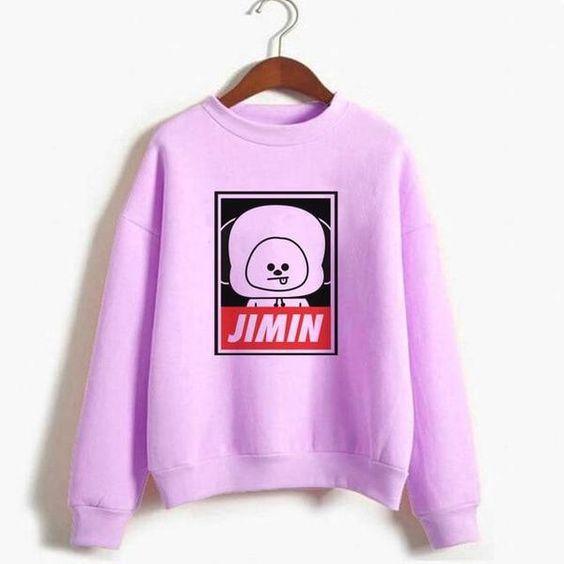 BT21 Jimin Sweatshirt D4AZ