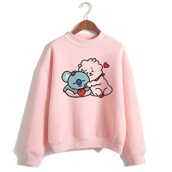 BT21 Sweatshirt D4AZ