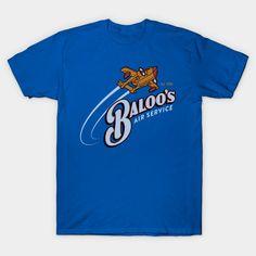 Baloo's Air Service Tshirt EL24D