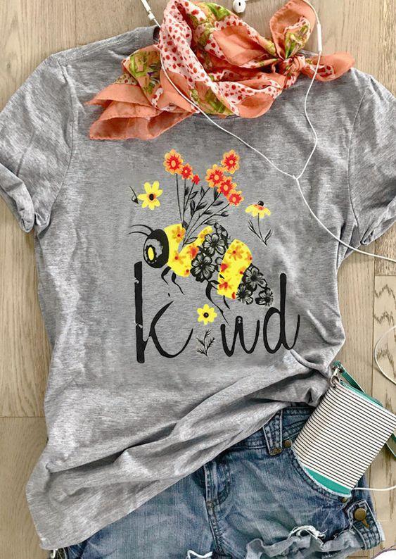 Bee Kind T-Shirt EM3D