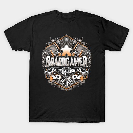 BoardGamer T-Shirt NR30D