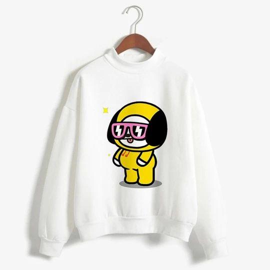 Bt21 Love Yourself Sweatshirt D4AZ