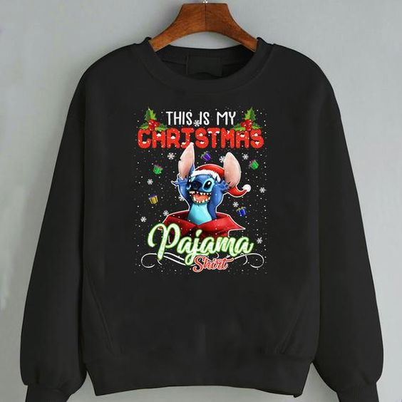 Christmas PaJama Sweatshirt EM3D