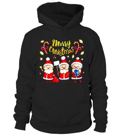 Christmas Santa's Hoodie EM7D