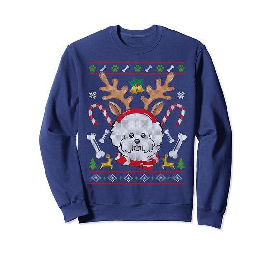 Christmas Xmas Sweatshirt EM3D