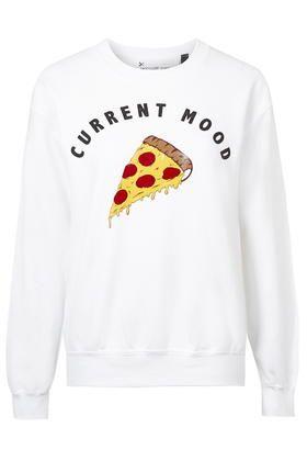 Current Mood Pizza Sweatshirt ER2D