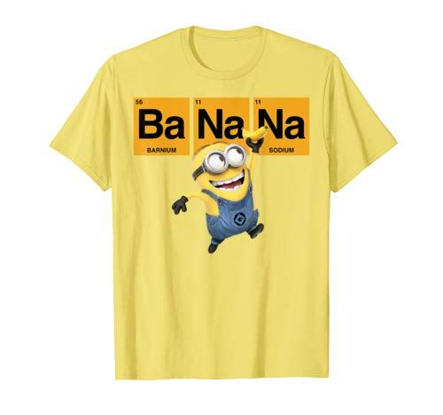 Ladys Shirt The Minions Powered by Bananas