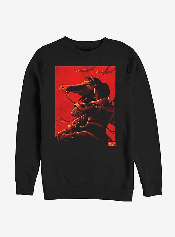 Disney Mulan Poster Sweatshirt VL5D