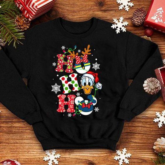 Donald Duck Christmas Sweatshirt D9EM