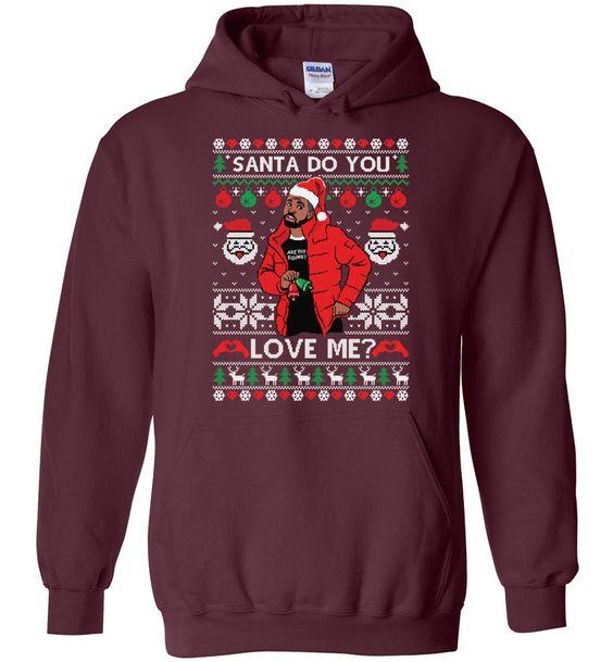 Drake Christmas Hoodie EM7D