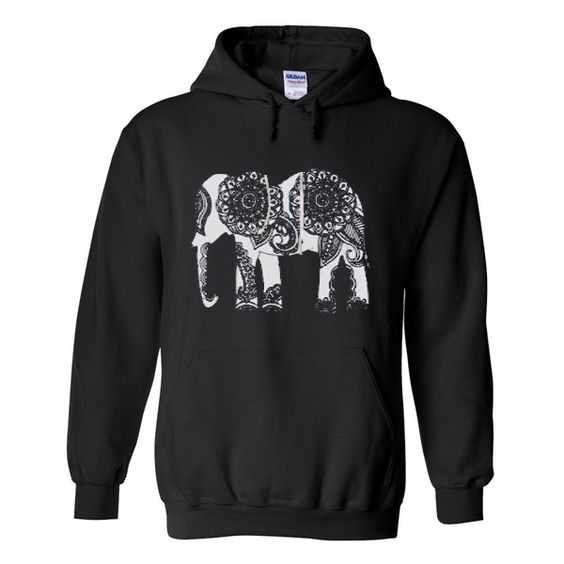 Elephant hoodie ER2D