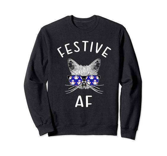 Festive AF Sweatshirt EM3D