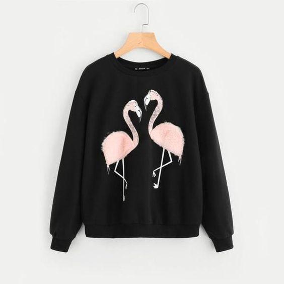 Flamingo Sweatshirt VL5D