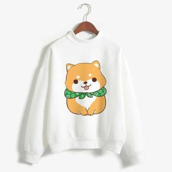 Funny Print Sweatshirt VL5D