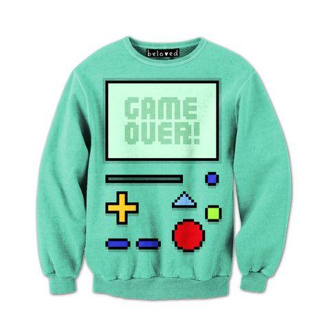 Game Over Sweatshirt ER3D