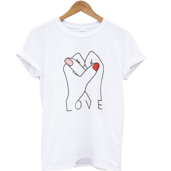 Love Hands Graphic T-shirt ER2D