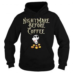 Nightmare Before Coffee Hoodie D9EM