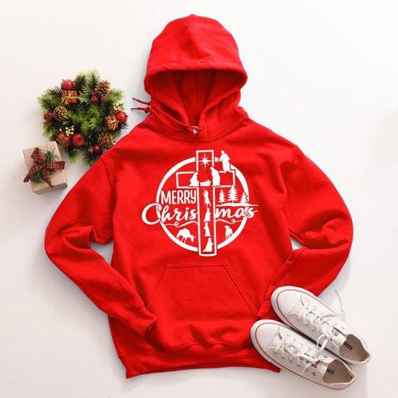 Religious Christmas Hoodie VL6D