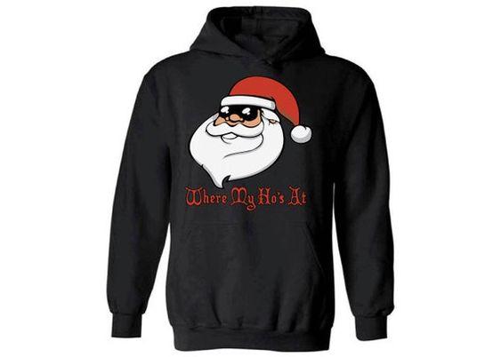 Santa's Hoodie EM7D
