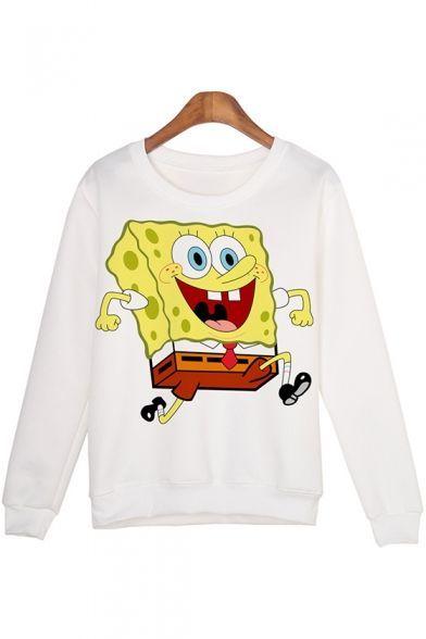 Spongebob Cartoon Sweatshirt ER2D