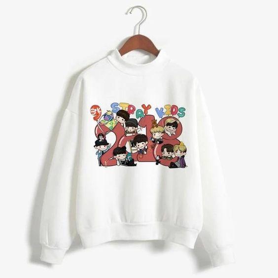 Stray Kids Sweatshirt D4AZ