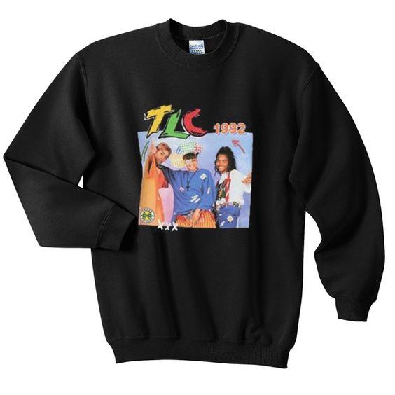 TLC 1992 sweatshirt ER2D
