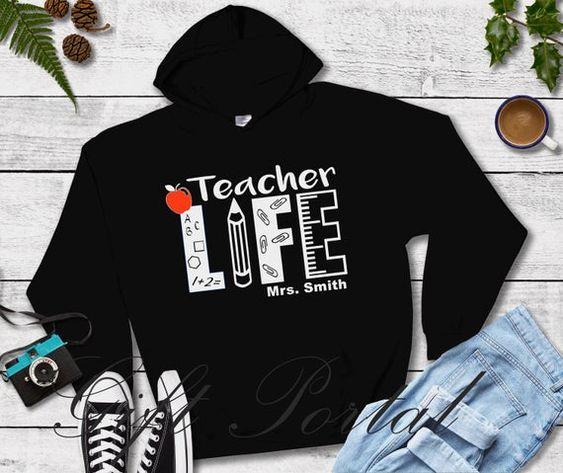 Teacher Gift Teacher Hoodie VL6D