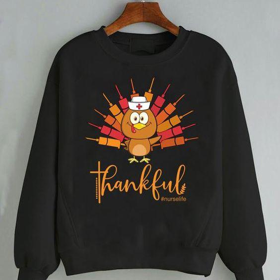 Thankful Sweatshirt EM3D