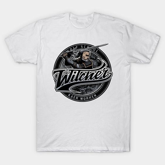 Witcher Team T-Shirt NR30D