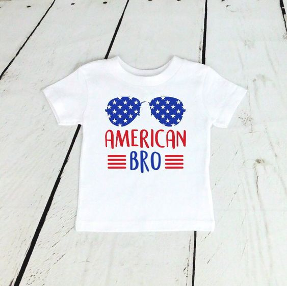 American Fourth of July T-Shirt ND27J0