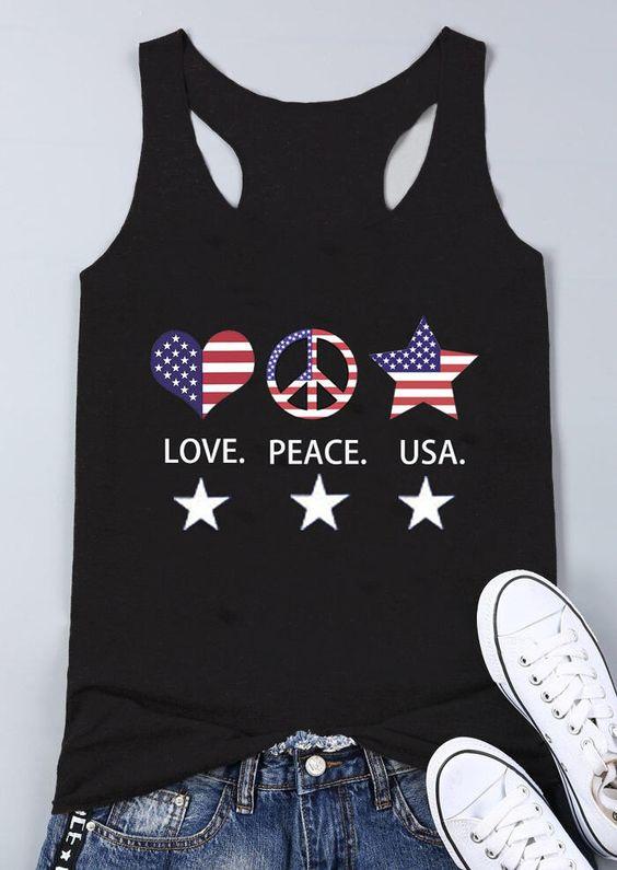 Love Peace USA Tanktop FD28J0
