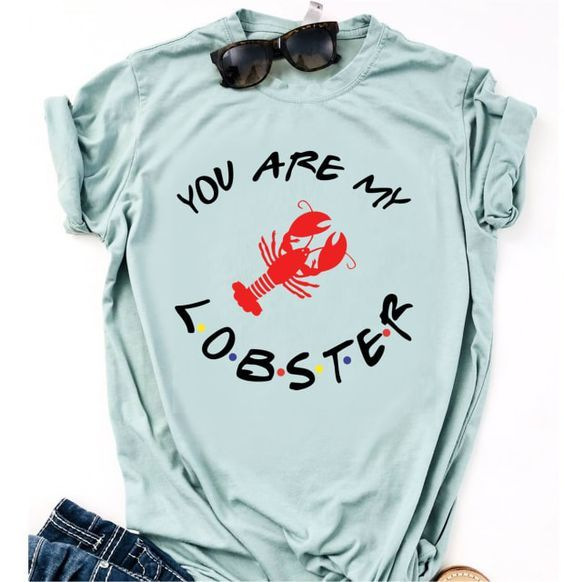Are my lobster Tshirt SR3F0