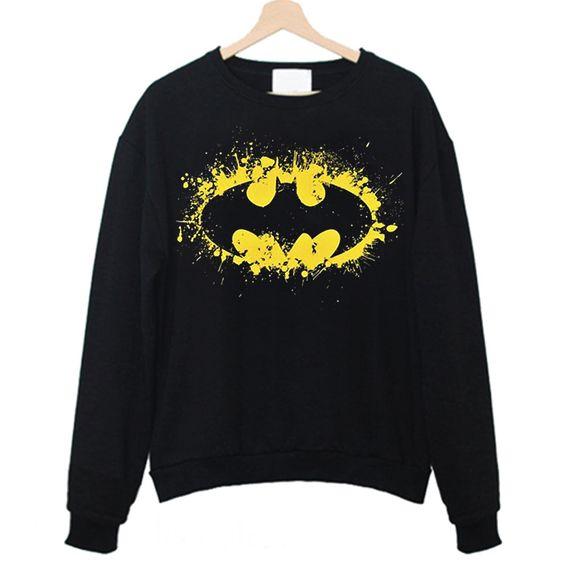 Batman Splash Logos Sweatshirt FD4F0