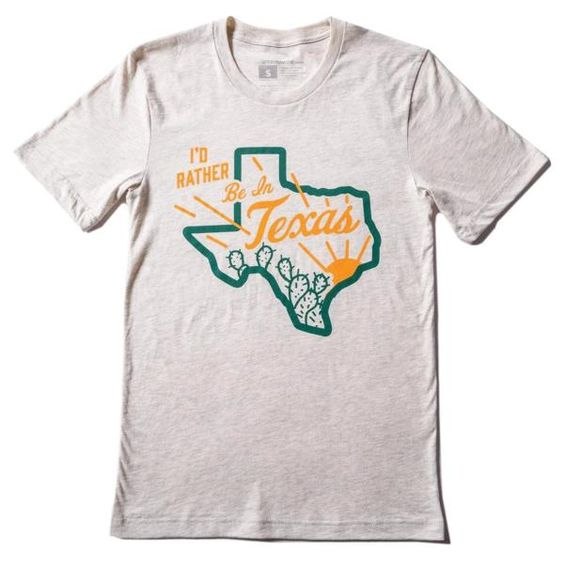 Be in texas T Shirt SR25F0