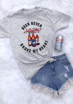 Beer Never Tshirt EL1F0