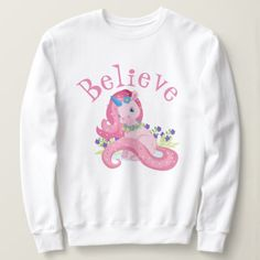 Believe Cute Sweatshirt EL10F0