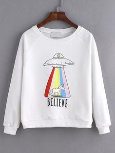 Believe Sweatshirt EL10F0