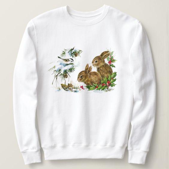 Bunnies Sweatshirt EL10F0