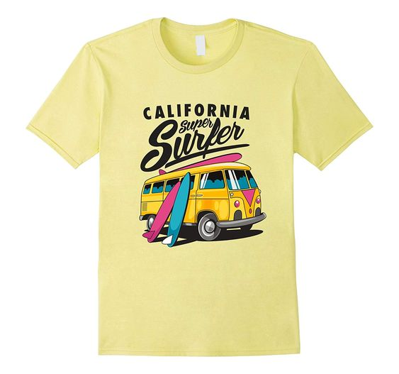 California super T Shirt SR25F0