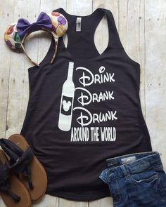 Drink Drank Drunk Tanktop TY29F0