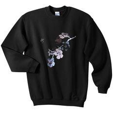 Flower Sweatshirt Tshirt EL10F0