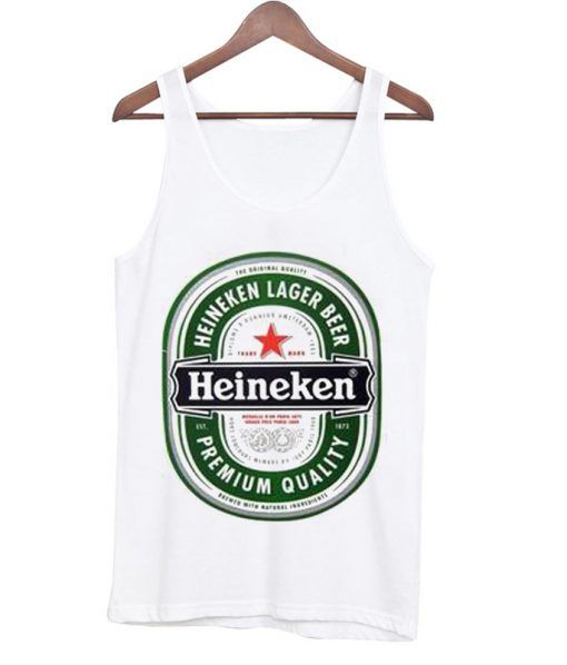 Heineken lager beer Tanktop MQ06J0