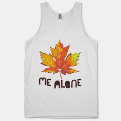 Leaf Me Alone Tanktop TY29F0