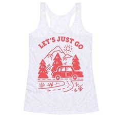 Lets Just Go Tanktop TY29F0