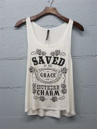 Saved Grace Tanktop TY29F0
