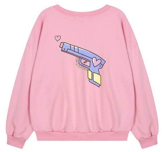 Snap Love Sweatshirt EL10F0