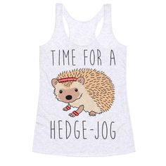 Time For A Hedge Jog Tanktop TY29F0