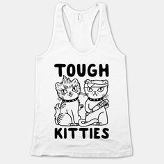Tough Kitties Tanktop TY29F0